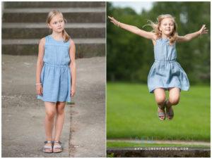 Linen blue dress for girl, summer linen dress for girl - Linen Fashion by Siulas
