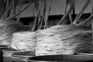 How flax in made? Picture from manufacturing process. AB Siulas