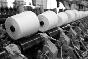 White linen yarn. Linen yarn spinning process, AB Siulas