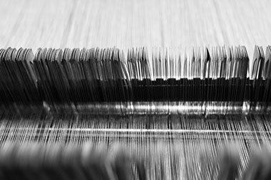 Weaving process, linen fabrics, AB Siulas